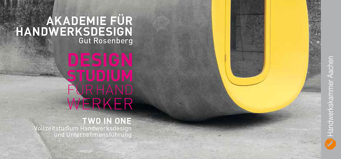Design Studium Handwerk, Two in one, Gut Rosenberg